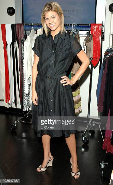 Erika Schaefer at Searle Collection during John Frieda Luminous Color Glaze PreEmmy Suite at Roosevelt Hotel in Hollywood California United States