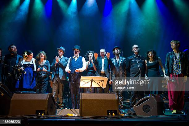 Erika Stucky Jane Birkin Adrian Stout Martyn Jacques St Vincent Terry Edwards Arthur H David Coulter Camille O'Sullivan and Stef Kamil Carlens...