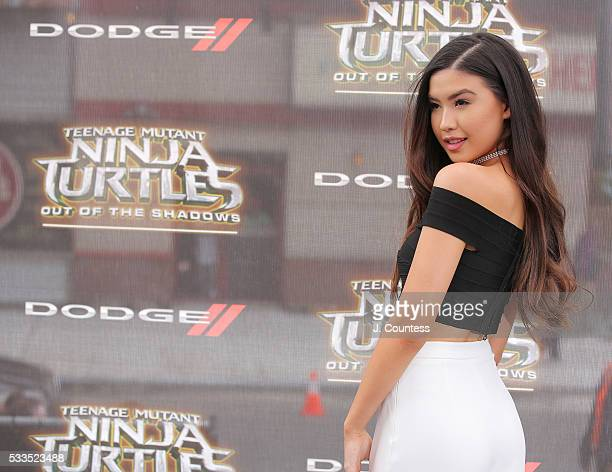 Erika Tham attends the 'Teenage Mutant Ninja Turtles Out Of The Shadows' World Premiere at Madison Square Garden on May 22 2016 in New York City