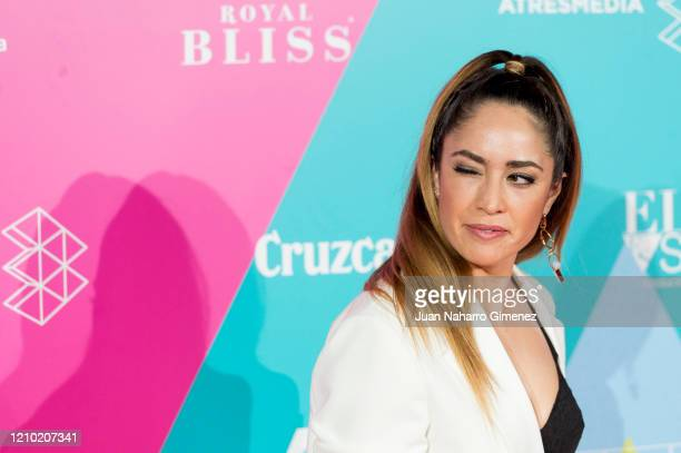 Erika Vega attends 23rd Malaga Film Festival cocktail party at Circulo de Bellas Artes on March 03, 2020 in Madrid, Spain.