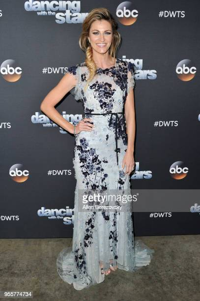 Erin Andrews arrives at ABC's Dancing With The Stars Athletes Season 26 show on May 7 2018 in Los Angeles California