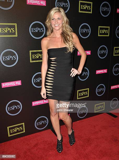 Erin Andrews attends the ESPY's Celebration Of Champions Athlete Kickoff at J Bar on July 14, 2009 in Los Angeles, California.
