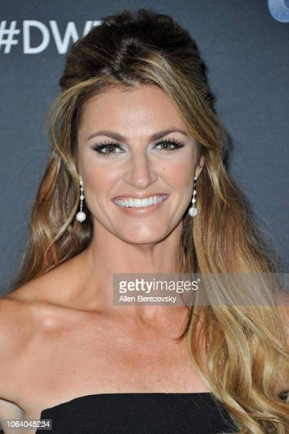 Erin Andrews poses at 'Dancing With The Stars' Season 27 at CBS Televison City on November 05 2018 in Los Angeles California