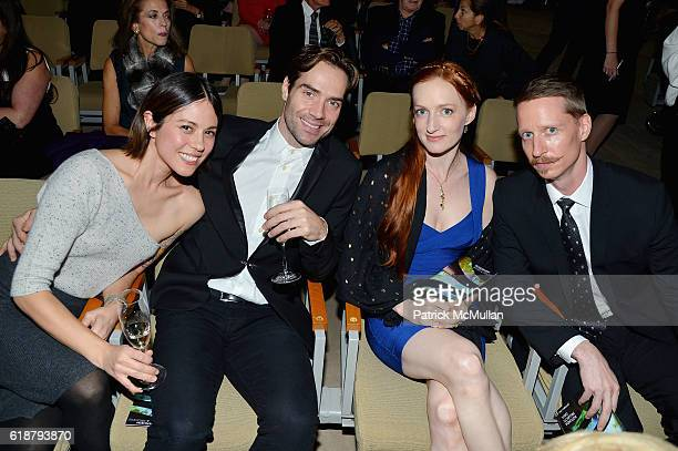 Erin Baiano Gonzalo Garcia Gillian Murphy and Ethan Stiefel attend the Works Process Rotunda Projects Gala at the Guggenheim at Guggenheim Museum on...
