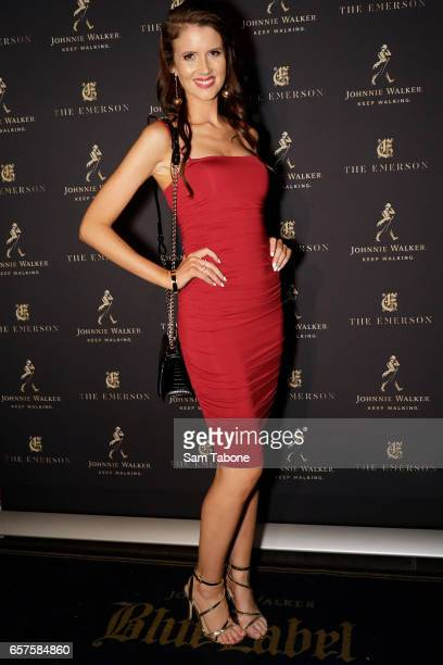 Erin Bateman attends the 2017 Johnnie Walker Grand Prix Penthouse Party on March 25 2017 in Melbourne Australia