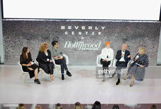 Erin Benach Ruth E Carter Alexandra Byrne Sandy Powell Carlos Rosario and The Hollywood Reporter's Style and Fashion News Director Booth Moore speak...