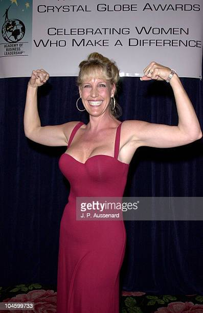 Erin Brockovich during Erin Brockovich Honored by Academy of Business Leadership at Beverly Hilton in Beverly Hills California United States