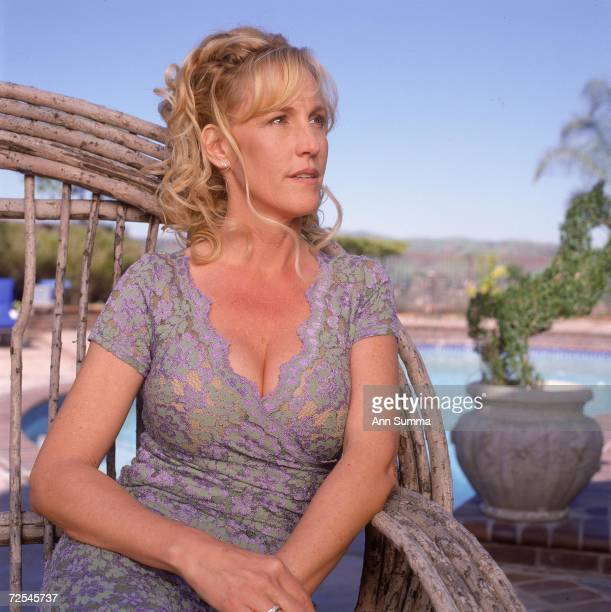 Erin Brockovich poses for exclusive portraits April 3 2000 at her home in Los Angeles CA