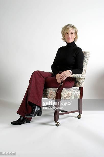Erin Brockovich poses for portraits in her office on November 10 2004 in Westlake California