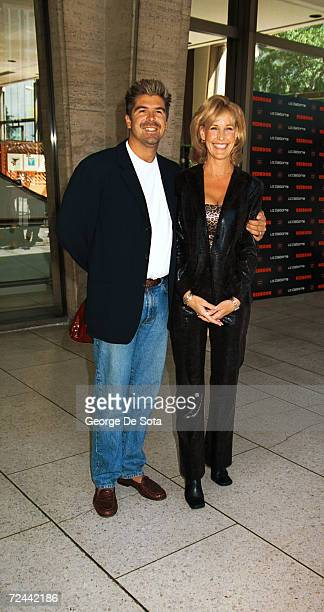 Erin Brockovich with husband Eric Ellis attend Redbook's 3rd Annual Mothers Shakers Awards September 6 2000 at the Avery Fisher Hall of the Lincoln...