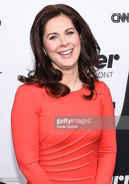 Erin Burnett attends the 2016 Turner Upfront at Nick Stef's Steakhouse on May 18 2016 in New York New York