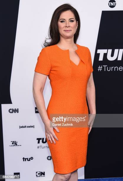 Erin Burnett attends the 2017 Turner Upfront at Madison Square Garden on May 17, 2017 in New York City.