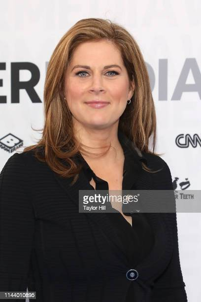 Erin Burnett attends the 2019 WarnerMedia Upfront at One Penn Plaza on May 15, 2019 in New York City.