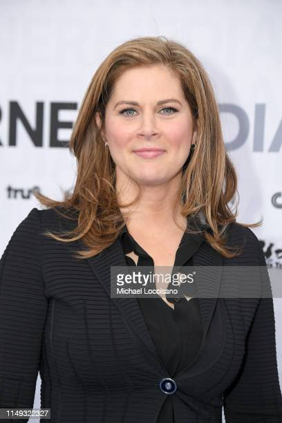 Erin Burnett attends the WarnerMedia 2019 Upfront at One Penn Plaza on May 15, 2019 in New York City.