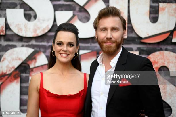 """Erin Cahill and Paul Freeman attend a Special Screening Of Netflix's """"Jessica Jones"""" Season 3 at ArcLight Hollywood on May 28, 2019 in Hollywood,..."""