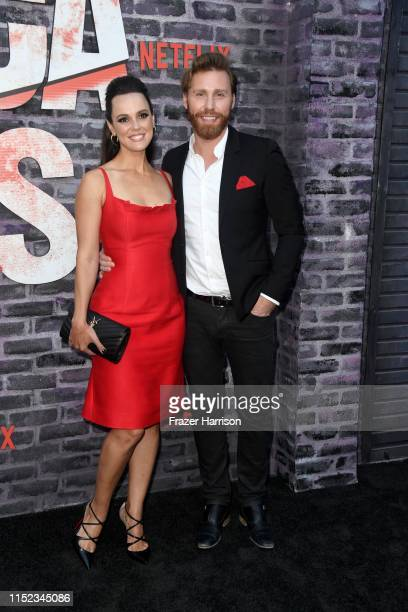 """Erin Cahill and Paul Freeman attends a Special Screening Of Netflix's """"Jessica Jones"""" Season 3 at ArcLight Hollywood on May 28, 2019 in Hollywood,..."""