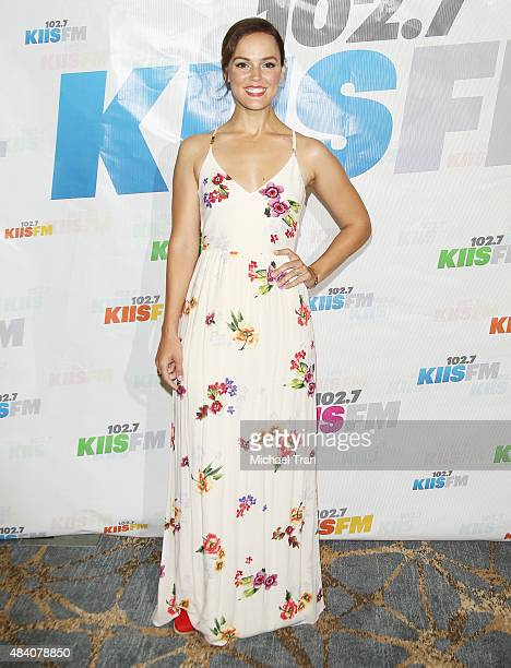 Erin Cahill arrives at the 1027 KIIS FM's Annual Teen Choice PreParty held at W Los Angeles Westwood on August 14 2015 in Los Angeles California