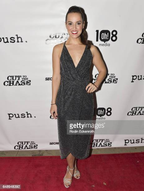 Erin Cahill attends 108 Media's 'Cut To The Chase' premiere at Laemmle's Music Hall 3 on March 6 2017 in Beverly Hills California