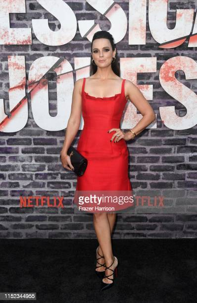 Erin Cahill attends a Special Screening Of Netflix's Jessica Jones Season 3 at ArcLight Hollywood on May 28 2019 in Hollywood California