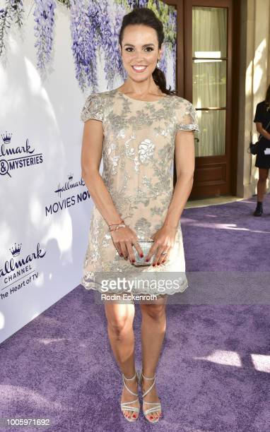 Erin Cahill attends the 2018 Hallmark Channel Summer TCA at a private residence on July 26 2018 in Beverly Hills California