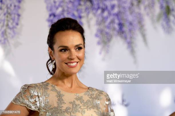 Erin Cahill attends the 2018 Hallmark Channel Summer TCA at Private Residence on July 26 2018 in Beverly Hills California