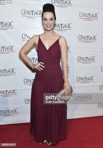 Erin Cahill attends the Cinemagic Annual Gala at The Fairmont Miramar Hotel Bungalows on March 15 2018 in Santa Monica California