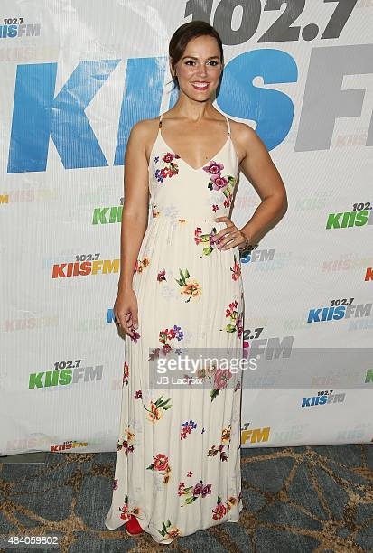 Erin Cahill attends the KIIS FM's Annual Teen Choice preparty at the W Westwood on August 14 2015 in Westwood California
