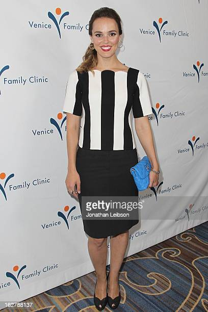 Erin Cahill attends the Silver Circle Gala at the Beverly Wilshire Four Seasons Hotel on February 26 2013 in Beverly Hills California
