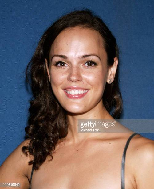 Erin Cahill during Celebrity Sightings Universal City Walk August 20 2006 at Universal City Walk in Los Angeles California United States