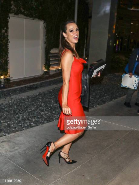 Erin Cahill is seen on May 28, 2019 in Los Angeles, California.