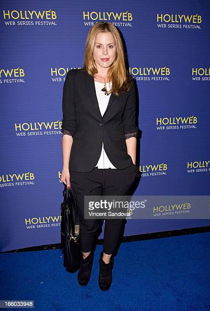Erin Cardillo attends the 2nd annual HollyWeb Festival at Avalon on April 7 2013 in Hollywood California