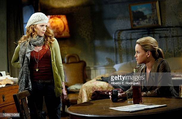 Erin Chambers and Julie Berman in a scene that airs the week of September 27th on ABC�s GENERAL HOSPITAL