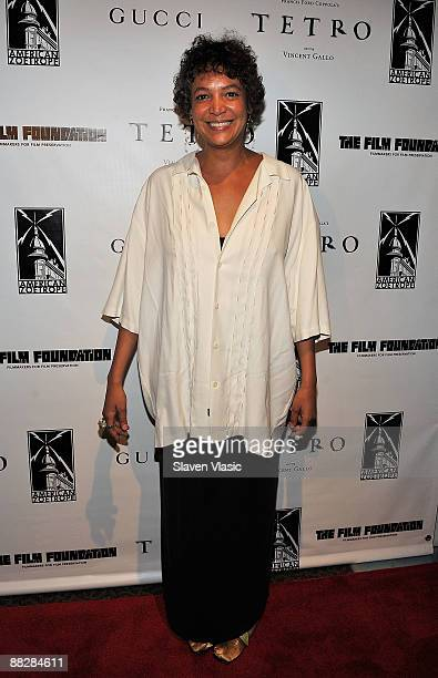 Erin Cosby attends the premiere of TETRO at the Directors Guild Theatre on June 7 2009 in New York City