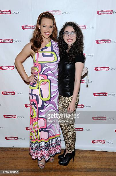 Erin Cummings and Alexis Molnar attend 'Harbor' Opening Night After Party at Park Avenue Armory on August 6 2013 in New York City