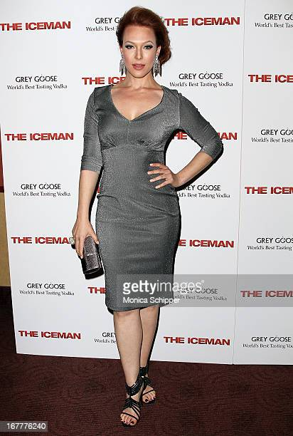 Erin Cummings attends the 'The Iceman' screening at Chelsea Clearview Cinemas on April 29 2013 in New York City