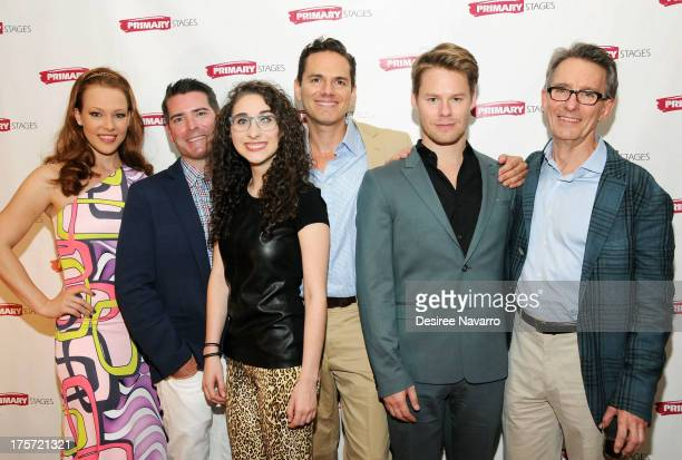 Erin Cummings Chad Beguelin Alexis Molnar Paul Anthony Stewart Randy Harrison and Mark Lamos attend 'Harbor' Opening Night After Party at Park Avenue...