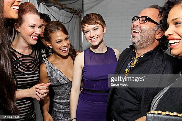 Erin Cummings Toni Trucks Valorie Curry and Christo at Sky Room on September 6 2012 in New York City