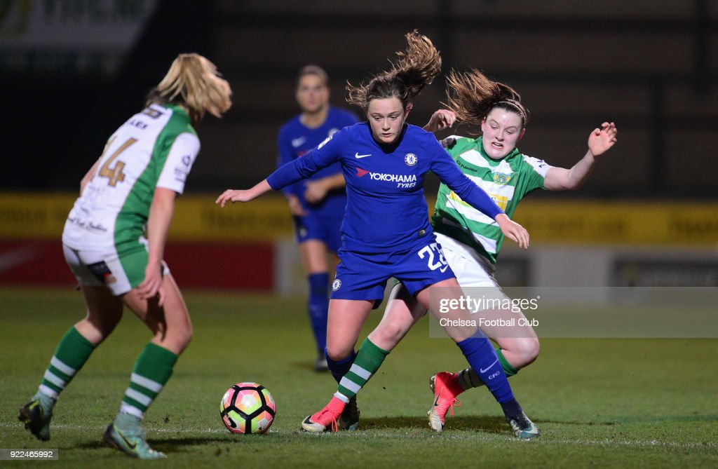 Yeovil Town Ladies v Chelsea Ladies: WSL : Photo d'actualité