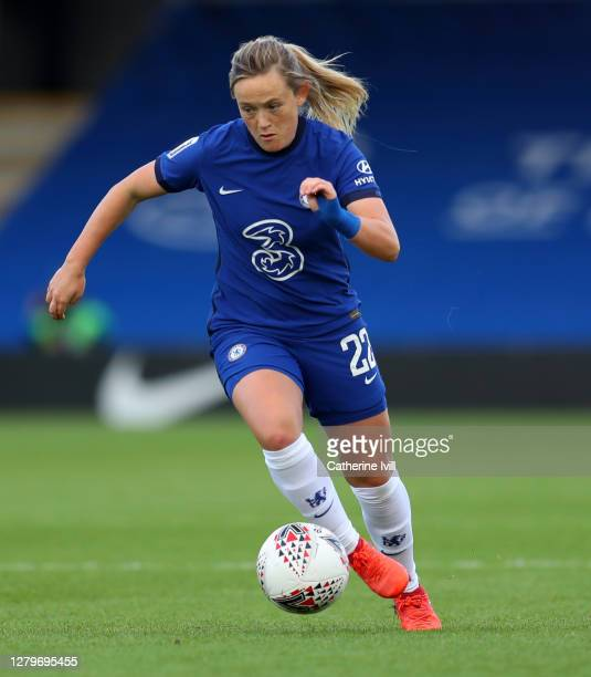Erin Cuthbert of Chelsea during the Barclays FA Women's Super League match between Chelsea Women and Manchester City Women at Kingsmeadow on October...