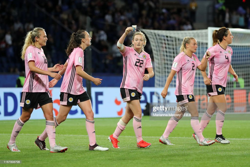 Scotland v Argentina: Group D - 2019 FIFA Women's World Cup France : News Photo