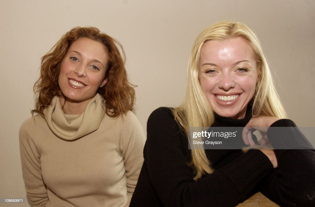 2002 Sundance Film Festival - Erin Daniels and Bronwyn Cornelius at the Million Dollar Film Festiva