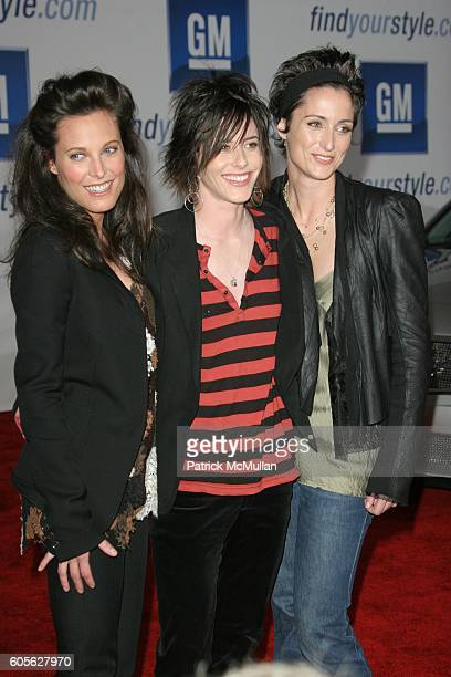 Erin Daniels Katherine Moennig and Alexandra Hedison attend General Motors Annual ten Celebrity Fashion Show Arrivals at 1540 N Vine on February 28...