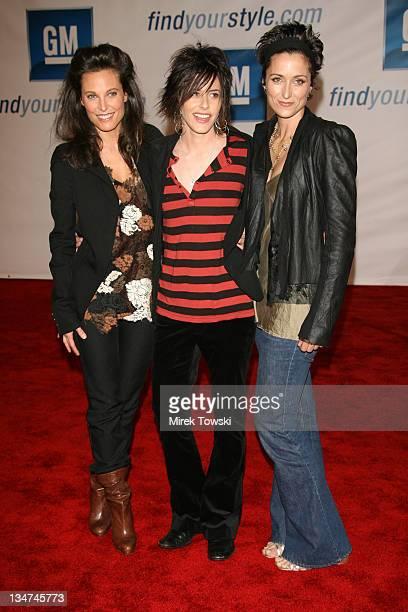 Erin Daniels, Katherine Moennig and Alexandra Hedison