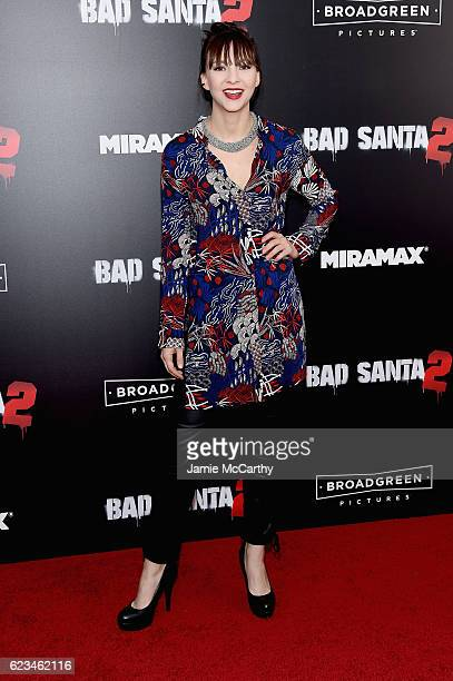 """Erin Darke attends the """"Bad Santa 2"""" New York Premiere at AMC Loews Lincoln Square 13 theater on November 15, 2016 in New York City."""