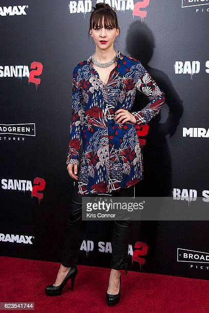 Erin Darke attends the Bad Santa 2 New York Premiere at AMC Loews Lincoln Square 13 theater on November 15 2016 in New York City