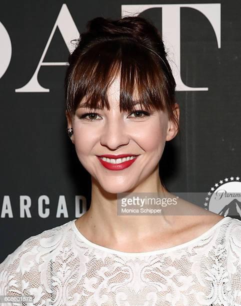 Erin Darke attends the 'Goat' New York Premiere at Landmark's Sunshine Cinema on September 19 2016 in New York City