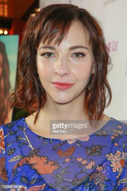 Erin Darke attends the premiere of Blue Fox Entertainment's Summer '03 at the Vista Theatre on September 24 2018 in Los Angeles California