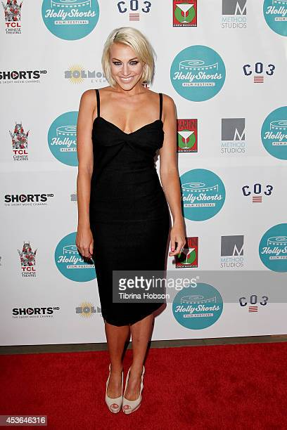 Erin Darling attends HollyShorts 10th anniversary opening night at TCL Chinese Theatre on August 14 2014 in Hollywood California