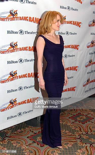 """Erin Dilly during """"Chitty Chitty Bang Bang"""" Broadway Opening Night - Curtain Call and After Party at The Hilton Theatre and Hilton New York Hotel..."""