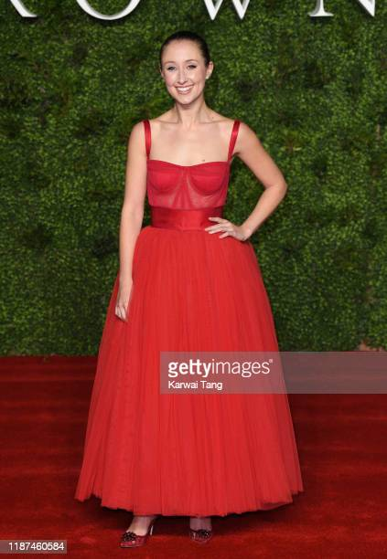 """Erin Doherty attends """"The Crown"""" Season 3 world premiere at The Curzon Mayfair on November 13, 2019 in London, England."""